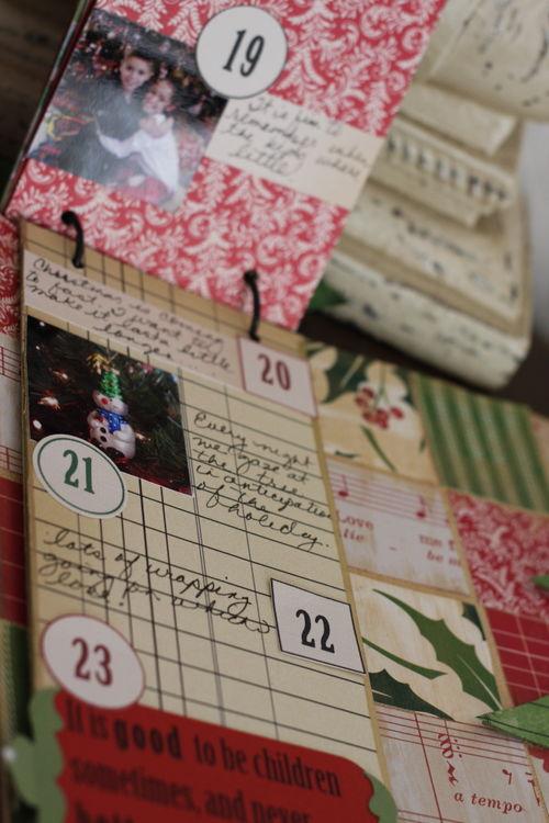 Inside photo of flip book